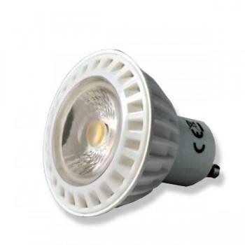 FARETTO GU10 LED 6W 230V LUCE CALDA 3000K 450LM 38 GRADI