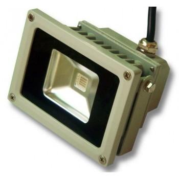 FARO 10W  LED 230V luce CALDA DA ESTERNO