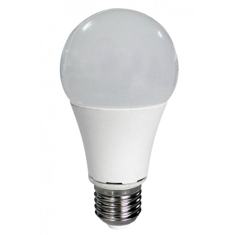 LAMPADINA LED A BULBO 230V 12W E27 LUCE FREDDA 6000K SMD5630