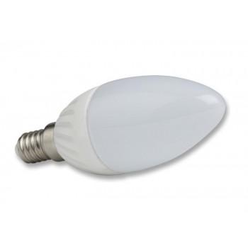 LAMPADINA LED E14 230V 4W LUCE CALDA 2700K 320Lm