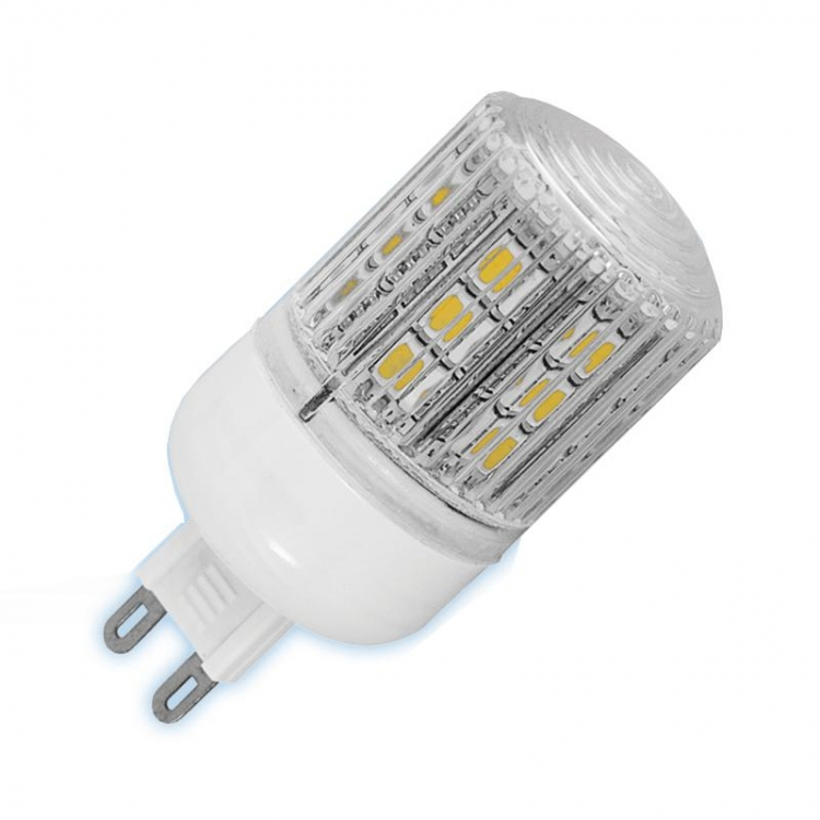 LAMPADA G9 230V 24 LED SMD 4W LUCE FREDDA
