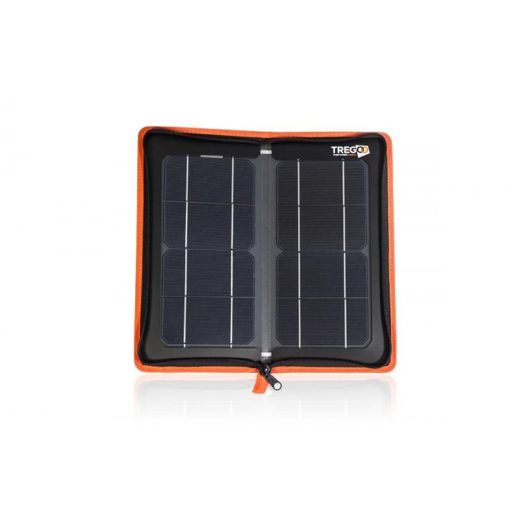 PANNELLO SOLARE PORTATILE TREGOO HIPPY 10 EXTREME 10W USB 5V