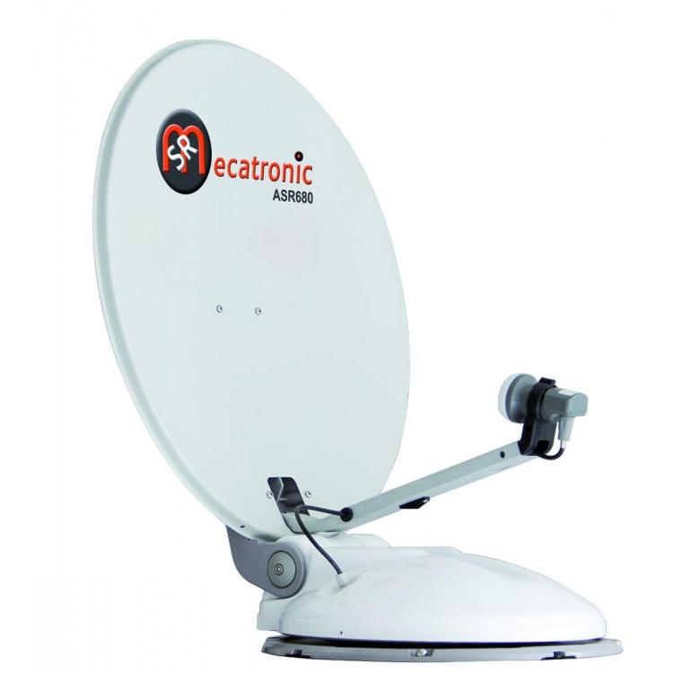 ANTENNA SATELLITARE CAMPER AUTOMATICA ASR680 PLUS 15 SATELLITI