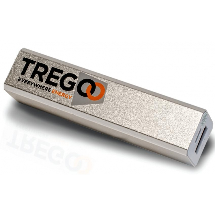 BATTERIA ESTERNA PORTATILE USB TREGOO LIZARD 10 5V 2600 mAh
