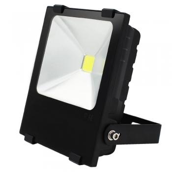 FARO 30W LED SLIM 24V AC LUCE FREDDA IP65 CANTIERE OFFICINA