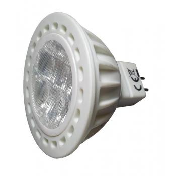 LAMPADINA LED 4W 12V GU5.3 MR16 LUCE CALDA 3000K VT-1834