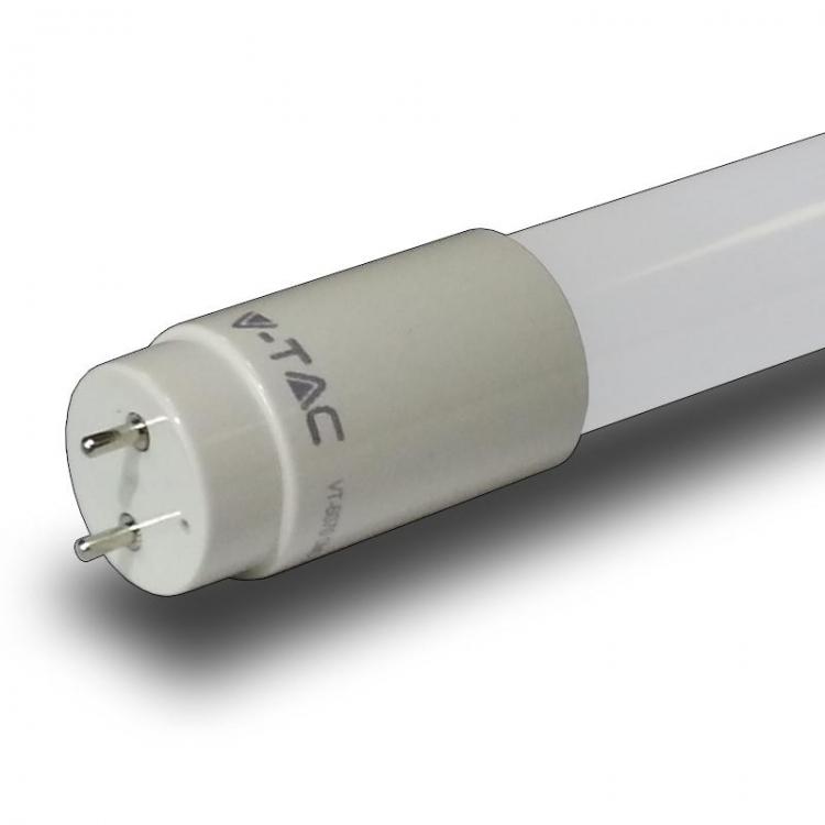 NEON LED T8 60 cm 10W G13 LUCE FREDDA 6000K V-TAC