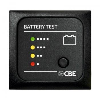 VOLTMETRO A LED PER CONTROLLO BATTERIA 12V CBE MTB CAMPER