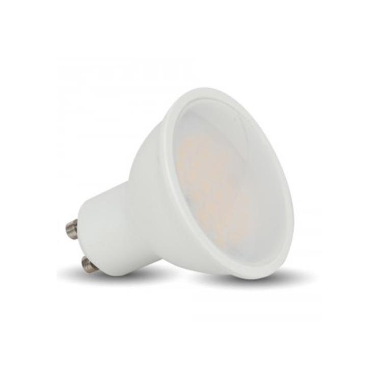 FARETTO GU10 LED 5W 230V LUCE CALDA 3000K 110° V-TAC SKU-1685