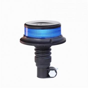 LAMPEGGIANTE LED BLU A INNESTO GIROFARO 12V 24V OMOLOGATO R10 R65 BASSO PROFILO