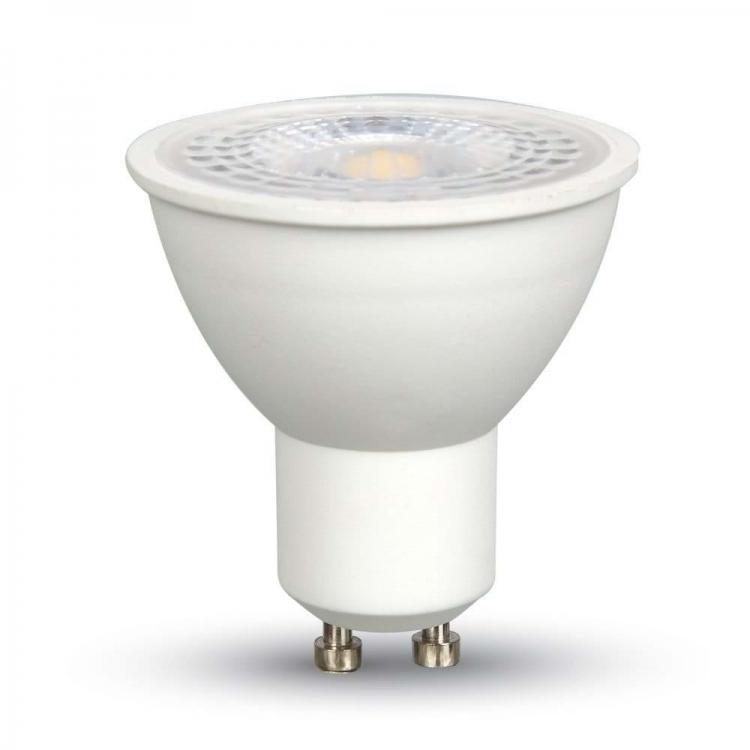 LAMPADINA LED 7W 230V GU10 LUCE NEUTRA 4000K 110° V-TAC VT-2778 SKU-1673