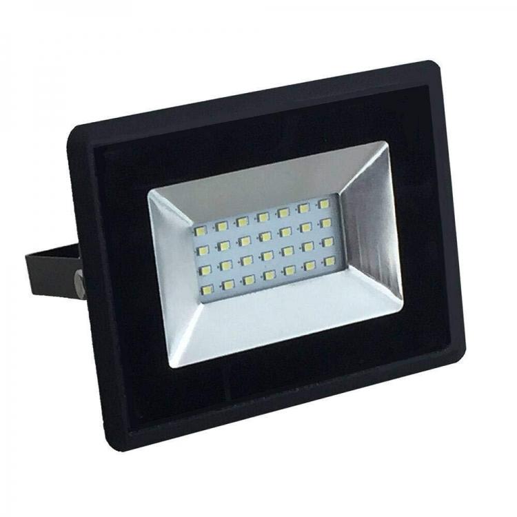 FARO LED 20W DA ESTERNO NERO LUCE NEUTRA V-TAC VT-4011 SKU-5947