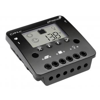 REGOLATORE DI CARICA CREPUSCOLARE CON DISPLAY 20A + USB SOLARE AGM LiFePO4 GEL